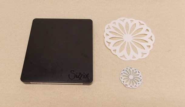 Sizzix die cut Shrink film