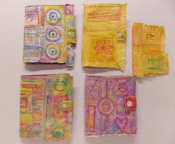 7-24-13 rebekahmeier.Painted Fiber Journal Covers.image2
