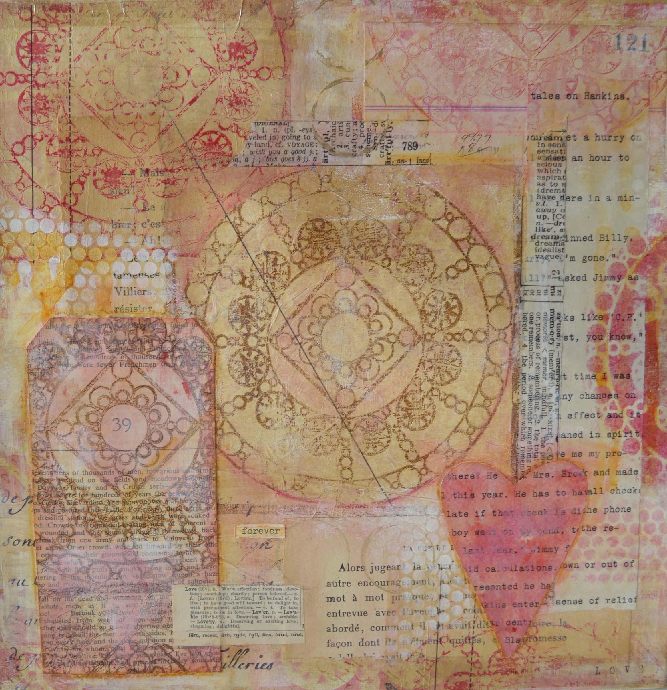 Byzatine Love Collage