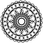 Ring Doily 12""