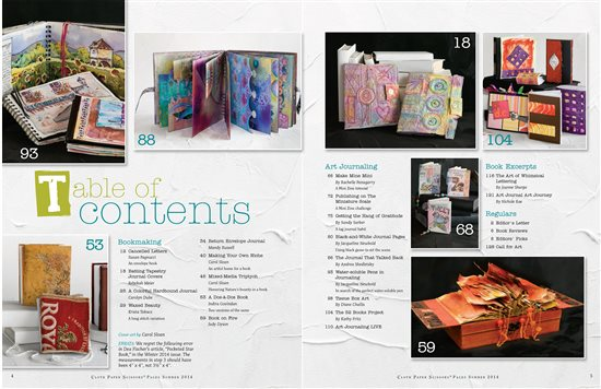 Page 18, Quilt Batting  Journal Covers